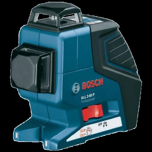 BOSCH GLL 2-80 P + LR 2 + BM 1 Professional laserski nivelir + prijemnik + držač