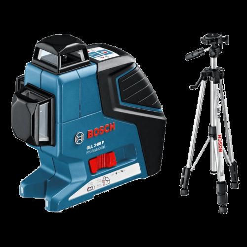 BOSCH GLL 3-80 P + BS 150 Professional laserski nivelir + građevni stativ