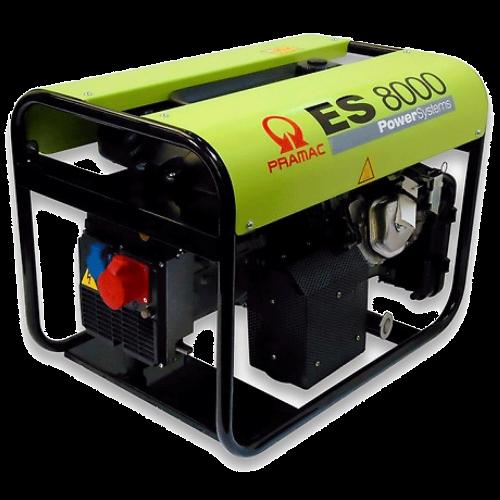 Pramac ES8000 400 V AVR benzinski agregat - generator