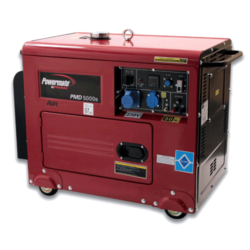 Pramac Powermate PMD 5000s dizel agregat - generator