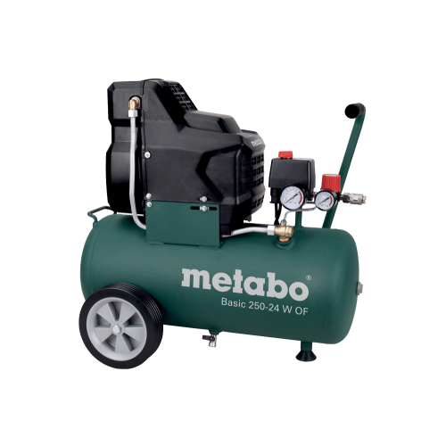 Metabo Basic 250-24 W OF bezuljni klipni zračni kompresor (601532000)