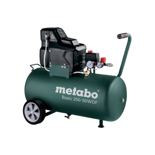Metabo Basic 250-50 W OF bezuljni klipni zračni kompresor (601535000)