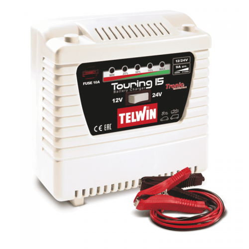Telwin Elements Touring 15 punjač akumulatora 12V/24V