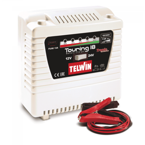 Telwin Elements Touring 18 punjač akumulatora 12V/24V
