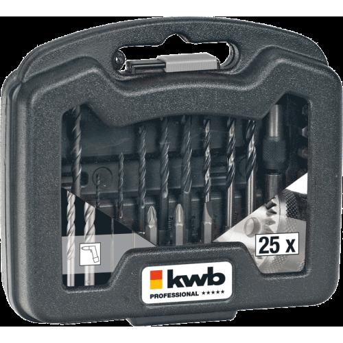 KWB PowerBox 25-dijelni set pribora (109025)