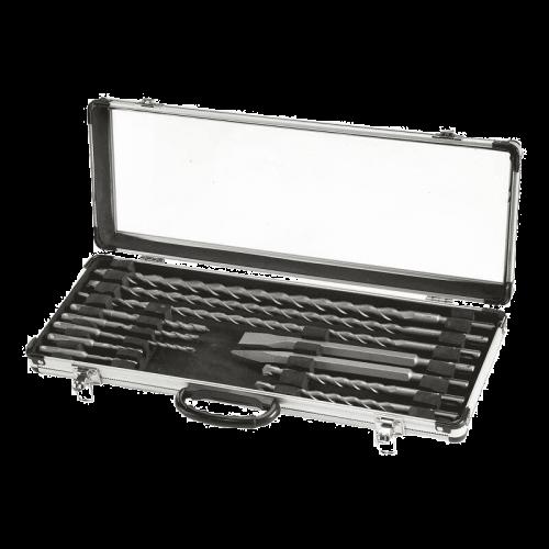 Einhell 12-dijelni set SDS Plus svrdla i dlijeta (4258090)