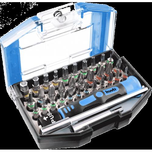 KWB 35-dijelni set nasadnih ključeva - gedora i nastavaka za odvijač (119000)