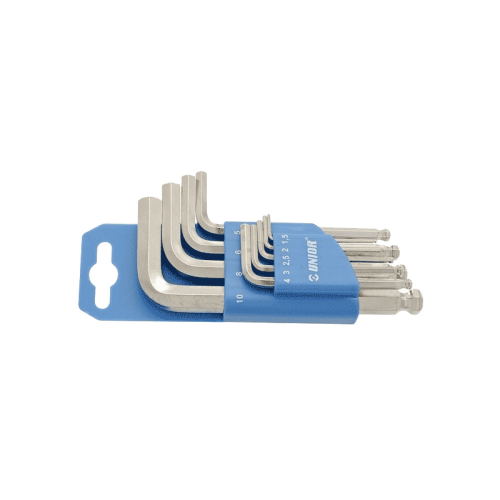 Unior 220/3SPH 9-dijelni set imbus ključeva s kuglom (607853)
