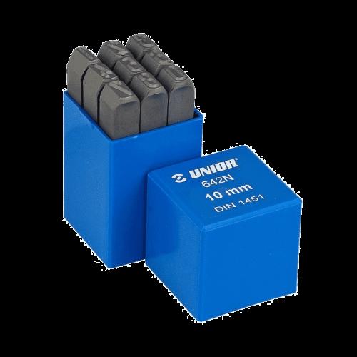 Unior 642NPB set obilježača s brojevima 8 mm (620942)