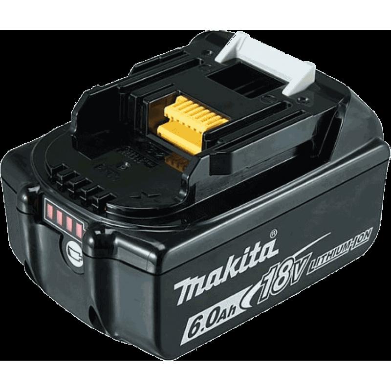 Makita BL1860B 18 V / 6.0 Ah Li-Ion akumulator (632F69-8)