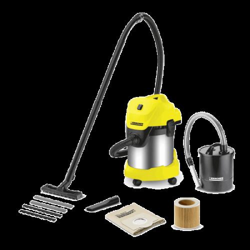 Kärcher WD 3 Premium Fireplace Kit Home&Garden usisivač za mokro/suho čišćenje