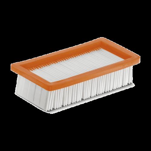 Kärcher filter s ravnim naborima za AD usisavače (6.415-953.0)