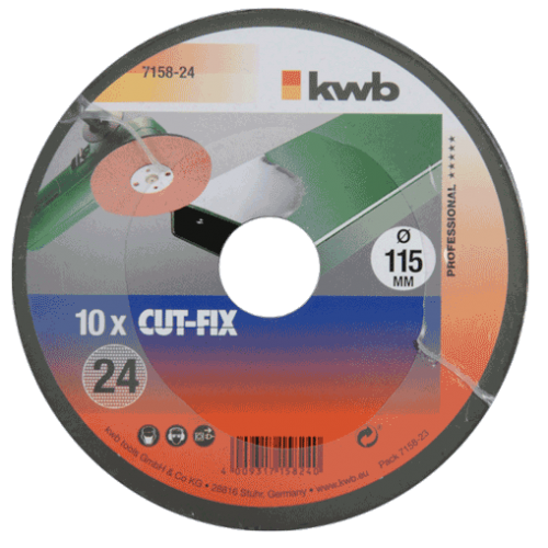 KWB brusni papir 115 mm za kutnu ugaonu brusilicu GR 40 10/1 (715840)