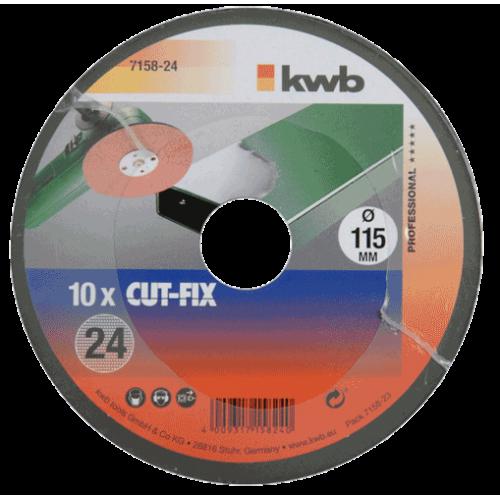 KWB brusni papir 115 mm za kutnu ugaonu brusilicu GR 80 10/1 (715880)