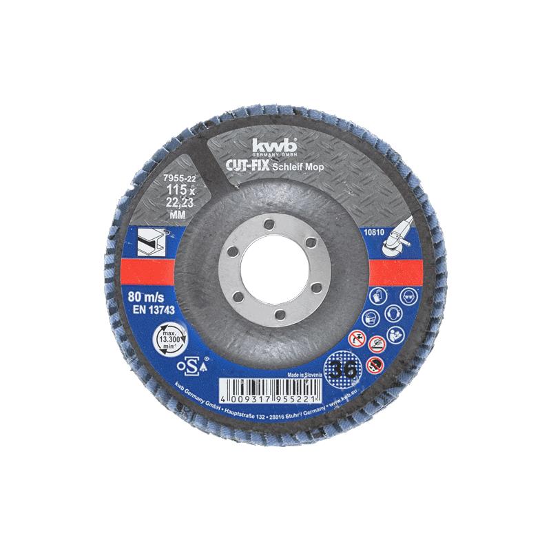 KWB lamelni papir 125 mm GR 80 (795728)