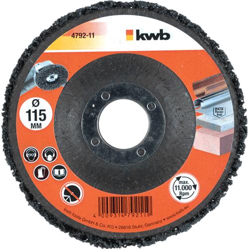 KWB univerzalna ploča za brušenje i poliranje 115 mm (479211)