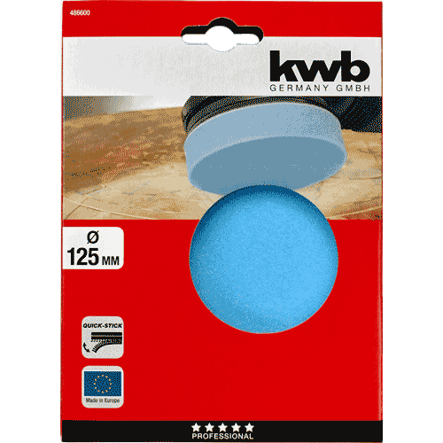KWB samoljepiva spužva za poliranje 125 mm (486600)