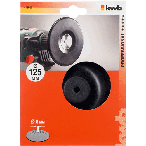 KWB gumeni disk za bušilicu 125 mm (483500)