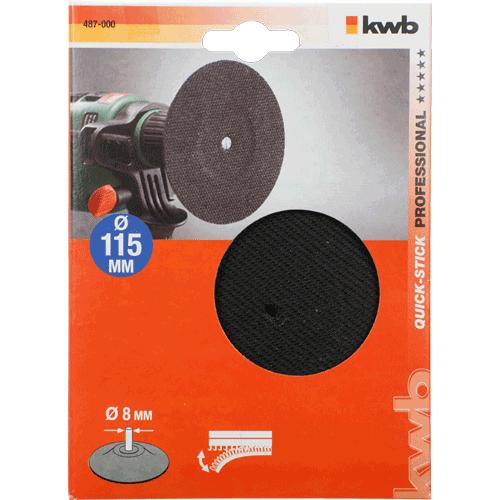 KWB gumeni disk za brusilicu 115 mm M14 (487014)