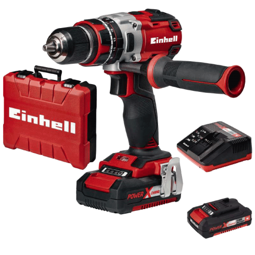 Einhell TE-CD 18 Li-i BL (2x2,0 Ah) Kit Power X-Change akumulatorska udarna bušilica (4513861)