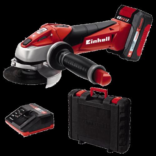 Einhell TE-AG 18 Li Kit Power X-Change akumulatorska kutna-ugaona brusilica