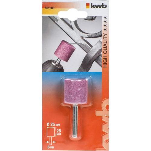 KWB cilindrični brus 25x25 mm za bušilicu 6 mm (551000)