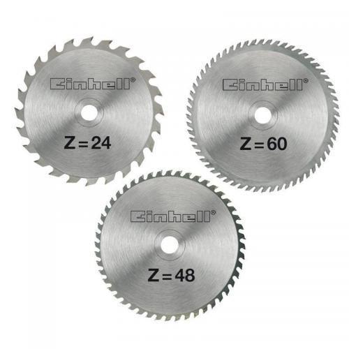 Einhell set reznih listova od tvrdog metala 210x2.5x30 mm 3/1 (4502132)