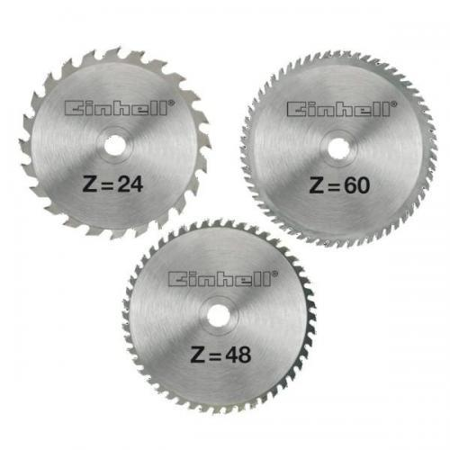 Einhell set reznih listova od tvrdog metala 250x3x30 mm 3/1 (4502133)