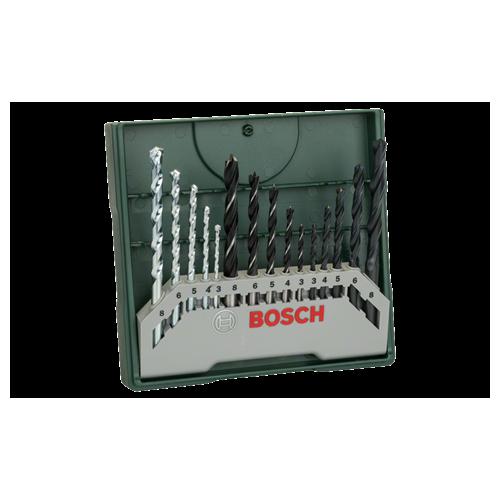 Bosch Mini-X-Line Mixed set borera - svrdla 15/1