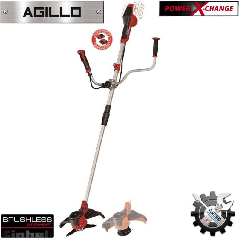 Einhell AGILLO Li E 36V Solo Power X-Change akumulatorski trimer (3411320)