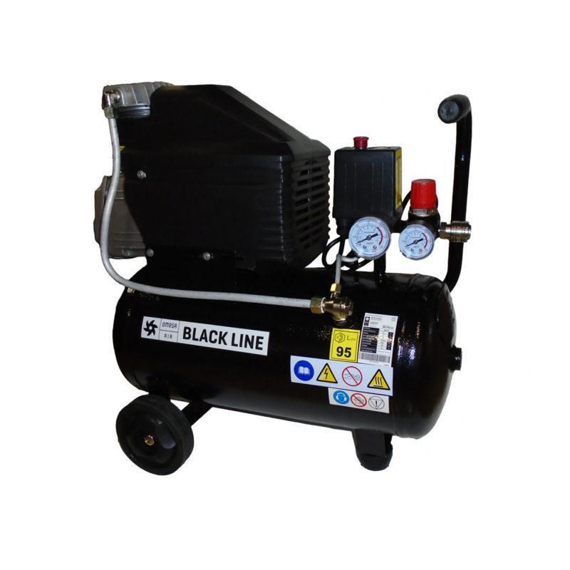 Proair DB 210/24 BLACK LINE 24L uljni klipni zračni kompresor