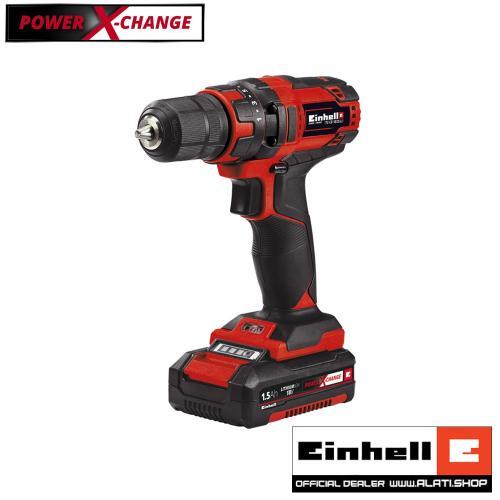 Einhell TC-CD 18/35 Li - Kit Power X-Change akumulatorska bušilica (4513914)