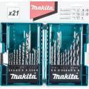 Makita boreri kombinovani u setu 21/1 (B-44884)