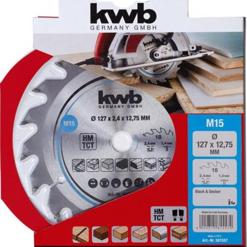 KWB Rezni list 160 x 16 mm / 20 Z, Carbid (584357)