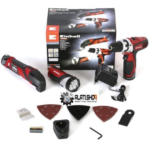 Einhell TE-TK 12 Li Kit (CD+AG) set akumulatorskih alata (4257291)