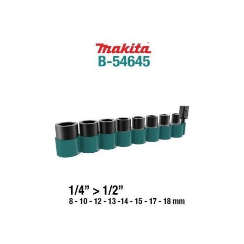 """Makita nasadni udarni ključ gedora 1/2"""" set 9/1 (B-54645)"""