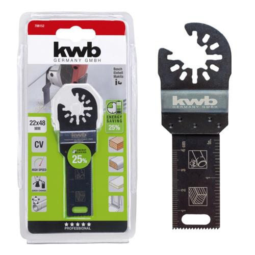 KWB nož za rezanje drveta/gipsa/plastike 22 mm (709152)