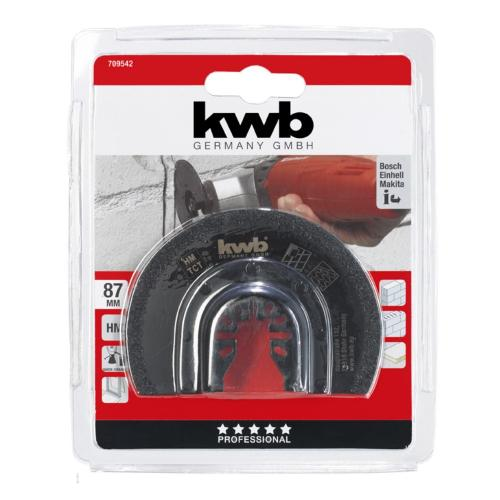 KWB kružni nož HM za pločice i fuge Ø 87 mm (709542)