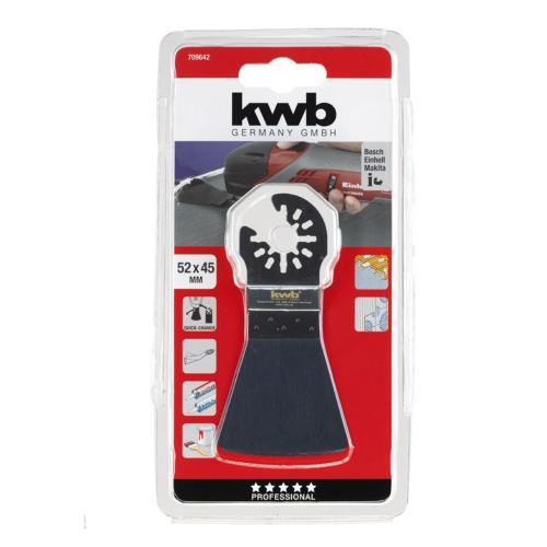KWB fleksibilni alat za skidanje silikona/ljepila/farbe 52 mm (709642)