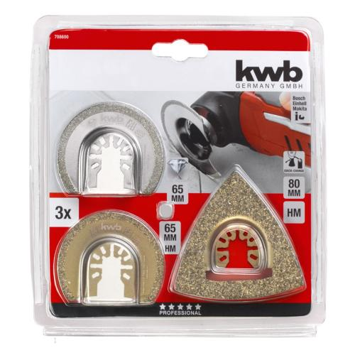 KWB set za repariranje 3/1 (708600)