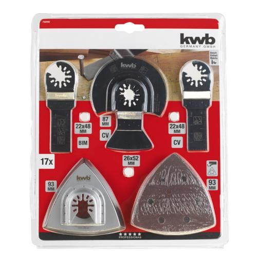 KWB univerzalni set za rezanje, čiščenje i brušenje 17/1 (708900)