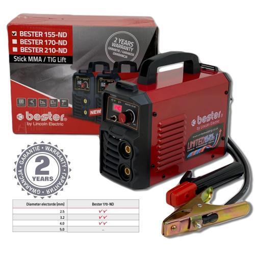 Lincoln Electric Bester 170 ND REL/TIG inverter za varenje (B18257-1)