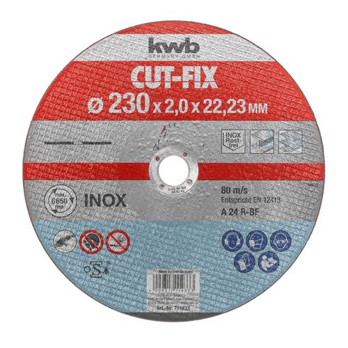 KWB Cut-Fix rezna ploča za Inox 230 x 2 mm (711933)