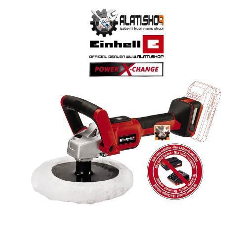 Einhell CE-CP 18/180 Li E Solo Power X-Change akumulatorska kutna polirka (2093320)