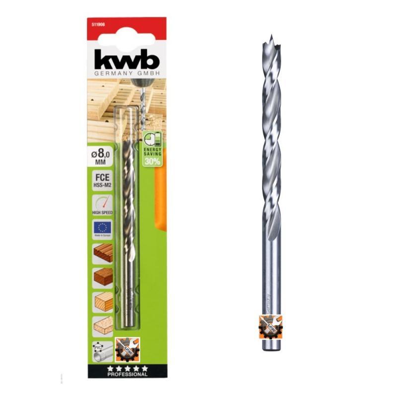 KWB AKKU TOP borer - svrdlo za drvo Ø 7 / 109 mm (511907)