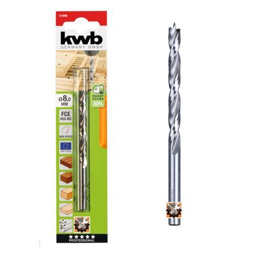 KWB AKKU TOP borer - svrdlo za drvo Ø 9 / 125 mm (511909)