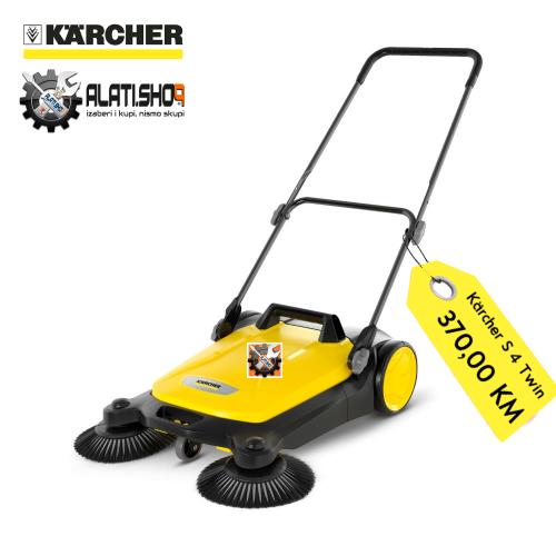 Kärcher Home&Garden uređaj za metenje S 4 Twin (1.766-360.0)