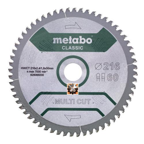 Metabo rezni list Multi Cut Classic 216×2,4/1,8×30/Z60 (628066000)