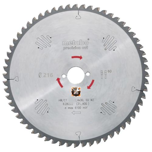 Metabo rezni list Multi Cut Professional 216×2,4/1,8×30/Z60 (628083000)