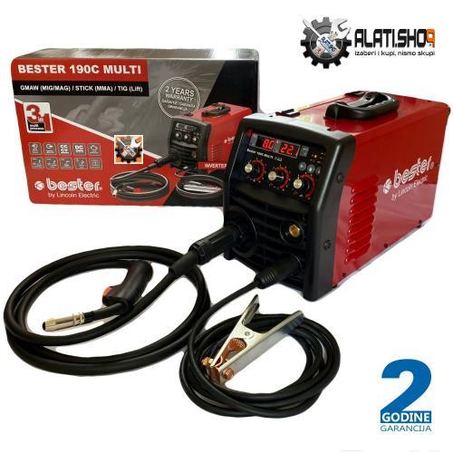 Lincoln Electric Bester 190C REL/TIG/MIG multiprocesni inverter za varenje (B18259-1 )